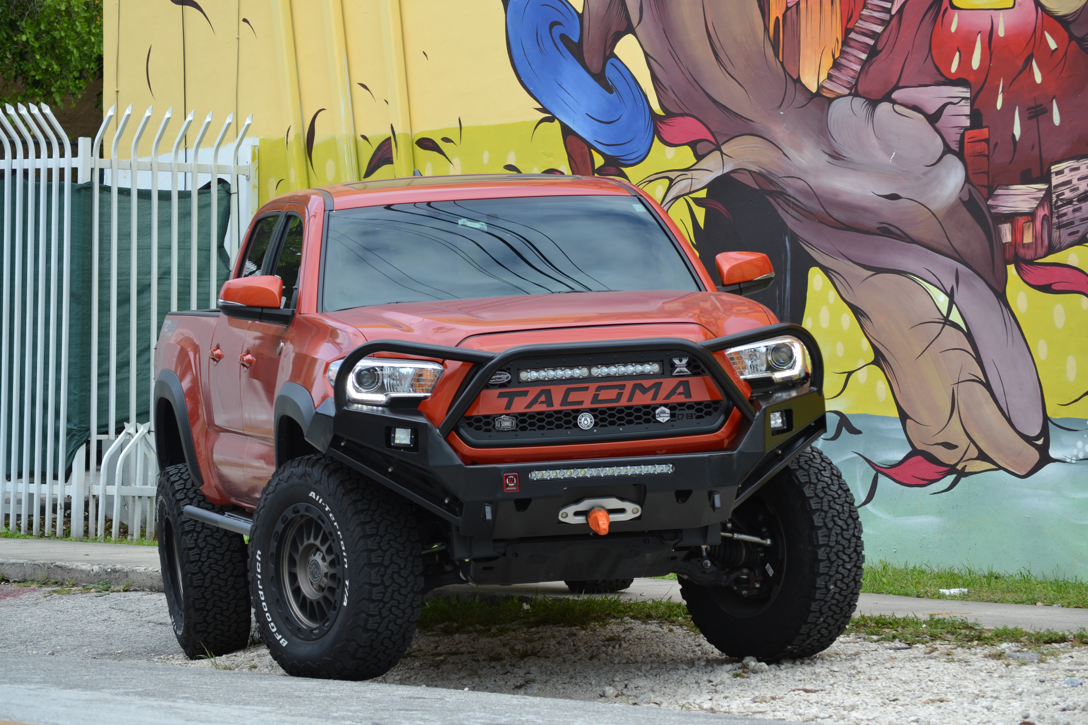 Toyota Tacoma Front Bumper >> Toyota Tacoma Front Bumper With Loops 2016 Proline 4wd Equipment